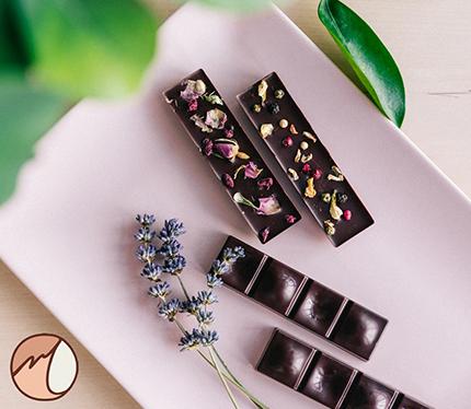 Čokolada s cvijećem
